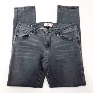 cabi | slim boyfriend skinny stretch jeans sz 6